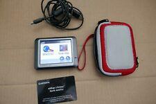 Garmin nuvi 250 GPS + lifetime map card + case + cable