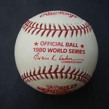 1980 Official Rawlings  World Series Baseball Philadelphia Phillies