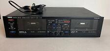Yamaha K-30 Natural Sound - Vintage Dual Cassette Player