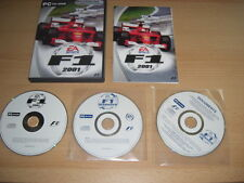 F1 2001 Limited Edition Pack includes F1 Manager Pc Cd Rom Formula One FAST POST
