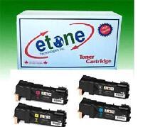 Toner Cartridge Set for Xerox Phaser 6500 6500N 6500DN KCMY 106R01597 New 3K HY