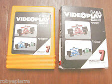 SABA VIDEOPLAY system fairchild videocart encoded program n 7 videogioco vintage