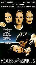 The House of the Spirits (1993) $1.99 VHS GLENN CLOSE,MERYL STREEP RARE! OOP!