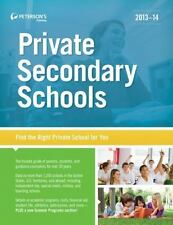 Private Secondary Schools 2013-14 (Peterson's Private Secondary Schools), Good B
