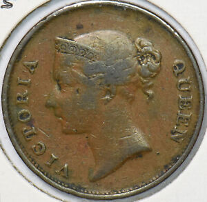 Straits Settlements 1845 Cent  291073 combine shipping