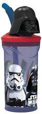 Star Wars Darth Vader Figurine '3d Head' Bottle With Straw Tumbler - 350ml