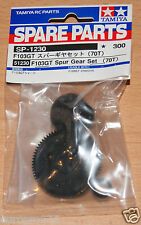 Tamiya 51230 F103GT conjunto de engranajes cilíndricos (70 T) (Coraje/Nissan GT-R LM Nismo) Nuevo en Paquete