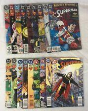 Dc Superman Comics Lot (multiple buying options) 1993-1996