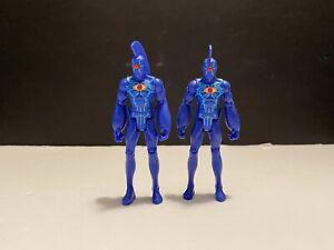"DC Universe Infinite Heroes Crisis OMAC 4"" Action Figures 2 Figure Lot"