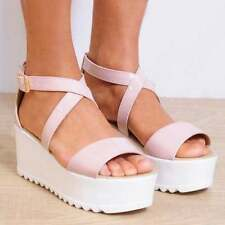 High (3 in. to 4.5 in.) Wedge Synthetic Heels for Women