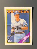 1988 Topps Tiffany #465 Paul Molitor HOF Milwaukee Brewers