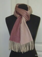 House of Scotland Echarpe 100% cachemire dégradé rose cashmere scarf