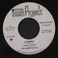 URBIE GREEN: Comin' Home Baby / Lumps 45 (dj, funky!) Jazz