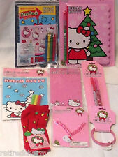 ❤️HELLO KITTY LOT �� Christmas��Stocking Stuffers Party Favors NEW 9 Available❤️