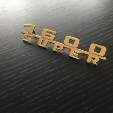"Original Porsche 356 A -B "" 1600 Super "" Badge Badge"