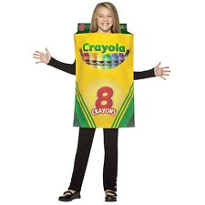 Crayola Crayon Box Costume Kids Halloween Fancy Dress