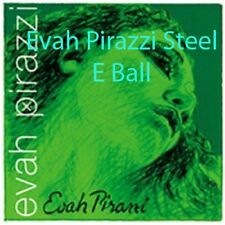 ***Best Price**** Evah Pirazzi Violin String Set 4/4 Medium Gauge E STEEL BALL