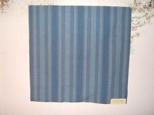 """Ralph Lauren, Salt River Stripe, Remnant, 26.50"""" W X 26"""" L, Color Blue Skies"""