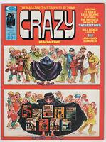 Crazy Magazine #9 (Feb 1975, Marvel) Satire Joker Will Eisner Gerber Stevens m