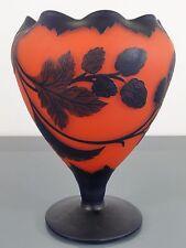 """Vase,Loetz ,Klostermühle,signiert """"Richard"""",Überfangglas,Art Deco,Glas,Hopfen"""