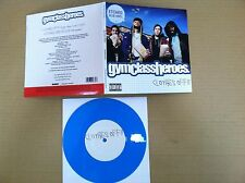 GYM CLASS HEROES Clothes Off RARE ETCHED BLUE UK 7 INCH Vinyl 2007 USA seller