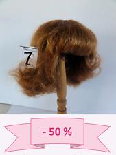 -50% PROMO - PERRUQUE de POUPEE T7 (28.5 cm) cheveux Bouclée Chatain roux - WIGS
