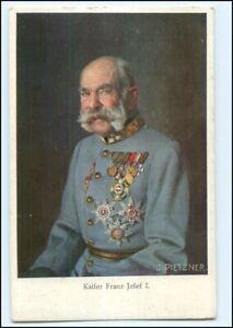 Y10297/ Kaiser Franz Josef mit Ehrenzeichen AK ca.1914