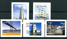 Portugal 2016 MNH Continente Sul 5v S/A Set Bridges Ships Architecture Stamps