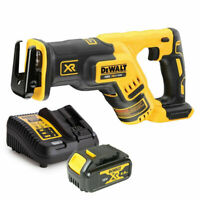 Dewalt DCS367 18V XR Brushless Reciprocating Saw With 1 x 4Ah Battery & Charger