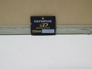 OLYMPUS 128MB  xD-Picture Memory Card