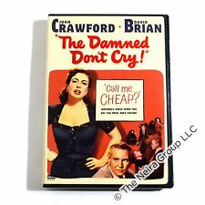 Damned Don't Cry DVD New Joan Crawford David Brian