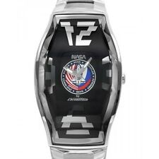 Chronotech NASA  CT.6281L-12M silver stainless-steel band watch NEW