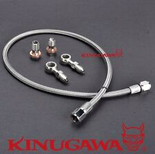 Turbo Oil Feed Line SUBARU WRX w/ Stock Mitsubishi TD04 TD05 Turbo (M10x1.5 mm)