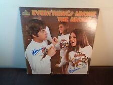 THE ARCHIES LP Everything's Archie ~ Rare AUTOGRAPHED SIGNED Archie & Barbara