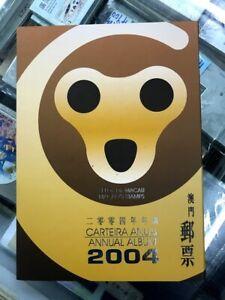 China Macau 2004 年票 ALBUM Whole Year of Monkey Full stamp set