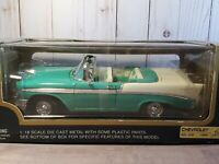 Road Legends 1956 Chevy Bel Air Convertible 1:18 Scale Diecast Model Car Yatming