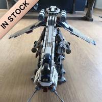 Star Wars Republic Dropship with AT-OT Walker 1758pcs building blocks Bricks