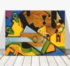 "JUAN GRIS Art- Still Life With Guitar CANVAS PRINT 24x18"" - Cubist, Cubism"