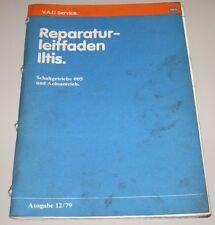 Werkstatthandbuch VW Iltis Typ 183 Schaltgetriebe 005 + Achantrieb Getriebe 1979