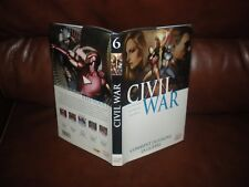 CIVIL WAR N°6 - MARVEL DELUXE GRAND FORMAT AVEC JAQUETTE EDITION 2014 PANINI