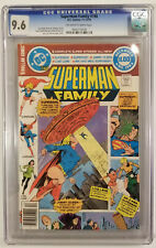 Superman Family #198 (CGC 9.6! Bronze Age Masterpiece! Only one on E-bay!!)