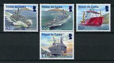 Tristan da Cunha 2018 MNH Royal Navy HMS Portland Lancaster 4v Set Ships Stamps