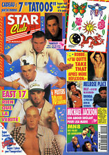 Magazine STAR-CLUB n°94, EAST 17, MELROSE PLACE, MN8, STALLONE, JACKSON, HARTLEY