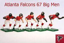 Tudor Electric Football Atlanta Falcons 67 Big Men - Nfl Dark Jerseys