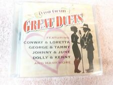 Classic Country GREAT DUETS Various Artists TIME LIFE NEW Sealed CD