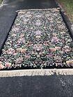 "Karastan Flower Garden 5'9""x 9' 100% Wool American Oriental Rug Garden Of Eden"