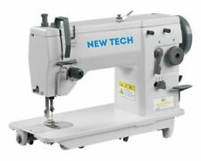 SINGER 20U83 Industrial Sewing Machine with Table and Servo Motor