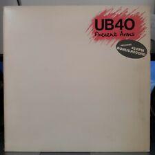 "UB40 - PRESENT ARMS - VINYL LP RECORD ALBUM & 12"" SINGLE"