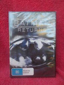 BATMAN RETURNS,TIM BURTON,DANNY DEVITO,MICHAEL KEATON DVD M R4 SEALED