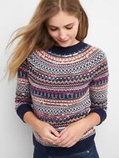Gap Limited Edition Sequin Fair Isle Pullover Sweater ~ NWT ~ Size Medium M